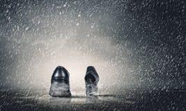περπάτημα παπουτσιών Στοκ φωτογραφία με δικαίωμα ελεύθερης χρήσης