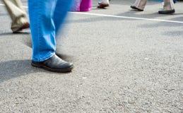 περπάτημα πλήθους Στοκ εικόνες με δικαίωμα ελεύθερης χρήσης
