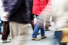 περπάτημα πλήθους Στοκ Εικόνες