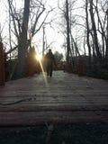 Περπάτημα προς το πεπρωμένο Στοκ Εικόνες