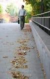 περπάτημα πτώσης Στοκ φωτογραφία με δικαίωμα ελεύθερης χρήσης