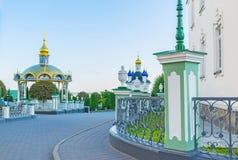 Περπάτημα σε Pochayiv Lavra Στοκ φωτογραφίες με δικαίωμα ελεύθερης χρήσης