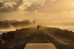 Περπάτημα στην ιστορία Στοκ Εικόνα