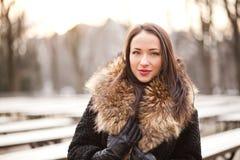 Περπάτημα στο πάρκο Στοκ εικόνες με δικαίωμα ελεύθερης χρήσης