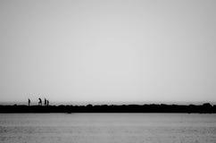 Περπάτημα του τοίχου Στοκ Φωτογραφίες