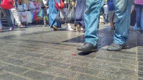 Περπάτημα Στοκ εικόνα με δικαίωμα ελεύθερης χρήσης