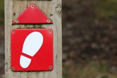 Περπατήστε αυτόν τον τρόπο Στοκ φωτογραφία με δικαίωμα ελεύθερης χρήσης