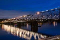 Περπατώντας γέφυρα Στοκ Εικόνες