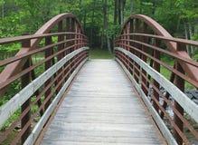 Περπατώντας γέφυρα Στοκ φωτογραφία με δικαίωμα ελεύθερης χρήσης