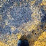 Περπατώντας πάτωμα Στοκ Φωτογραφία