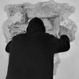 περπατώντας τοίχοι Στοκ Εικόνες