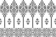 Περσική διακόσμηση διανυσματική απεικόνιση