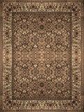 Περσική σύσταση ταπήτων, αφηρημένη διακόσμηση Στρογγυλό σχέδιο mandala, Μεσο-Ανατολική παραδοσιακή σύσταση υφάσματος ταπήτων Τυρκ Στοκ Φωτογραφίες