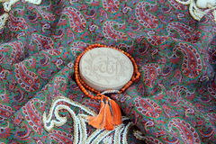 Περσικός καθρέφτης γαμήλιου Sofreh της μοίρας Στοκ φωτογραφία με δικαίωμα ελεύθερης χρήσης