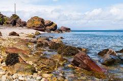 πεσμένοι βράχοι sannox Στοκ Φωτογραφίες