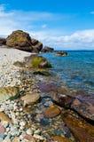 πεσμένοι βράχοι sannox Στοκ φωτογραφία με δικαίωμα ελεύθερης χρήσης