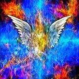 Πεσμένος άγγελος στοκ φωτογραφία