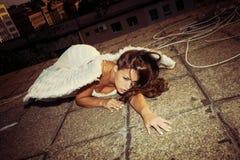 Πεσμένος άγγελος Στοκ φωτογραφίες με δικαίωμα ελεύθερης χρήσης