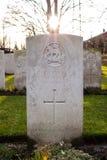 Πεσμένος νεκροταφείο Πρώτος Παγκόσμιος Πόλεμος Φλαμανδική περιοχή Βέλγιο στρατιωτών Στοκ φωτογραφία με δικαίωμα ελεύθερης χρήσης