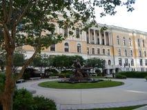 Πεσμένο η Μασαχουσέτη μνημείο πυροσβεστών, Μασαχουσέτη Βουλή, Hill αναγνωριστικών σημάτων, Βοστώνη, Μασαχουσέτη, ΗΠΑ Στοκ Εικόνες