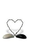 πεσμένο PC ποντικιών αγάπης Στοκ εικόνα με δικαίωμα ελεύθερης χρήσης