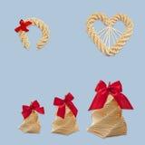 πεταλοειδές άχυρο καρδ Στοκ Εικόνες
