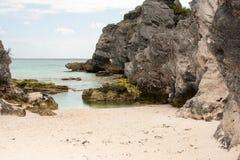 Πεταλοειδής παραλία Βερμούδες Στοκ Εικόνες