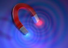 πεταλοειδής μαγνήτης Στοκ Εικόνες