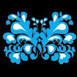 πεταλούδα ανασκόπησης π&omic Στοκ Φωτογραφία