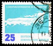Πεταλούδα, ευρωπαϊκά πρωταθλήματα κολύμβησης, Λειψία serie, circa 1962 στοκ φωτογραφία με δικαίωμα ελεύθερης χρήσης