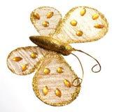 πεταλούδα χρυσή Στοκ Φωτογραφίες