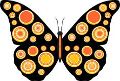 πεταλούδα 2 4 Στοκ Φωτογραφία