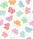 πεταλούδες ανασκόπησης Στοκ Φωτογραφίες