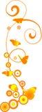 πεταλούδες ανασκόπησης απεικόνιση αποθεμάτων