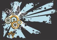 πεταλούδες βρώμικες διανυσματική απεικόνιση