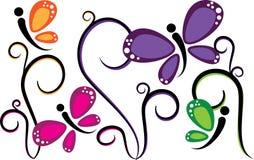 πεταλούδες Στοκ Εικόνες