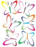 πεταλούδες Στοκ Φωτογραφίες
