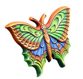 πεταλούδα διακοσμητική Στοκ φωτογραφίες με δικαίωμα ελεύθερης χρήσης