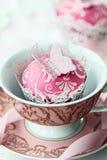 πεταλούδα cupcake Στοκ Εικόνες