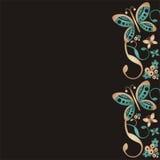 πεταλούδες ανασκόπησης Στοκ εικόνα με δικαίωμα ελεύθερης χρήσης