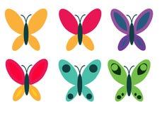 Πεταλούδες Στοκ Εικόνα