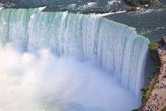 Πεταλοειδές ζουμ πτώσεων, Niagara Στοκ φωτογραφία με δικαίωμα ελεύθερης χρήσης