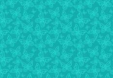 Πεταλούδα άνευ ραφής Στοκ Φωτογραφίες
