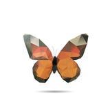 Πεταλούδα τριγώνων στοκ φωτογραφία