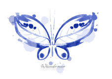Πεταλούδα Watercolor Στοκ Εικόνα