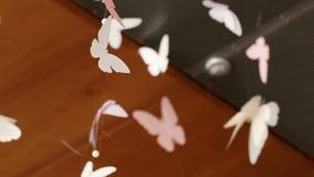 Πεταλούδες εγγράφου Στοκ φωτογραφίες με δικαίωμα ελεύθερης χρήσης