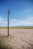 πετοσφαίριση δικτύου πα&rh Στοκ φωτογραφία με δικαίωμα ελεύθερης χρήσης