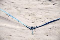 Πετοσφαίριση στην παραλία Στοκ Εικόνες