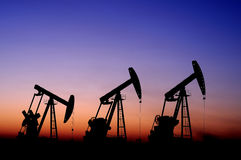 πετρέλαιο αερίου Στοκ Φωτογραφίες