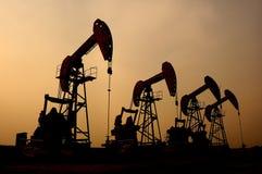 πετρέλαιο αερίου Στοκ Φωτογραφία